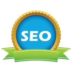 Gold seo logo