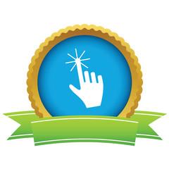 Gold click logo