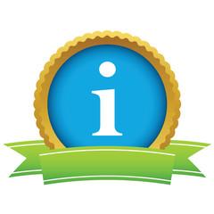 Gold info logo