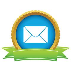 Gold letter logo