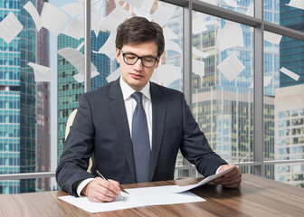 legal consultant is dealing with due diligence process