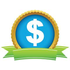 Gold dollar logo
