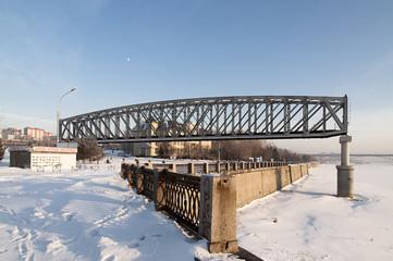 Old bridge arch