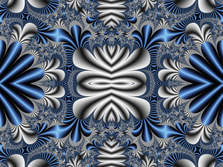 Fabulous symmetrical pattern for background. Artwork for creativ