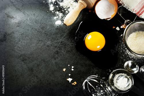 baking background - 81800643