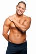 Attractive muscular guy