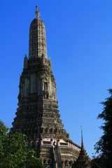 Giant Pagoda - Wat Arun Temple in Thailand
