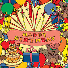 Card for birthday greetings.