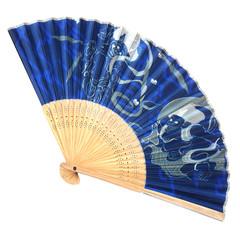 Antique Fan Japanese Folding