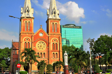 Ho Chi Minh cathedral, Vietnam