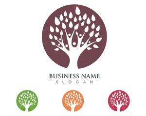 Family Tree Logo Template 1