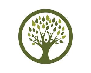 Family Tree Logo Template 2