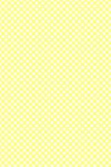 チェック柄黄色