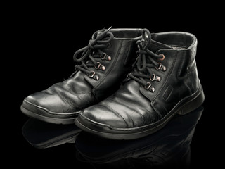 Old man's boots