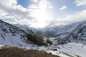 Elbrus at sunrise