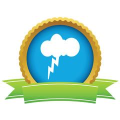 Gold storm logo
