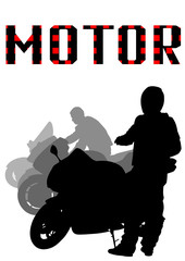Motorcyclist people