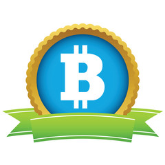Gold Bitcoin logo