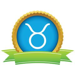 Gold Taurus logo