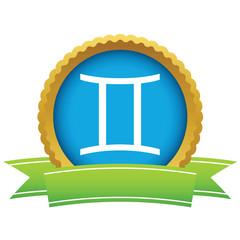 Gold Gemini logo