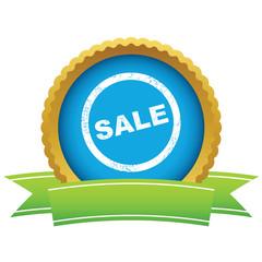 Gold sale logo