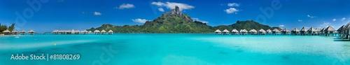 Tuinposter Strand Bora Bora panorama