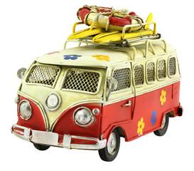 Retro toy camper car