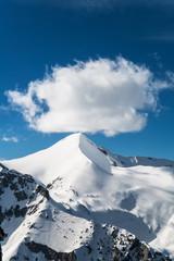 Snowcapped Mountain Peak