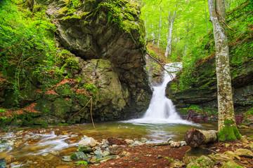 The White water waterfall In Balkan Mountains, Bulgaria