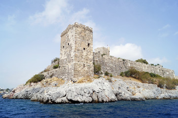 St. Peter castle in Bodrum