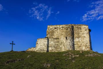 Medieval chapel on the  Pchelina dam, Bulgaria