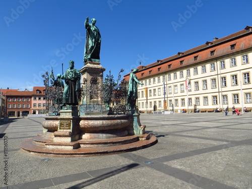Leinwandbild Motiv Maximiliansbrunnen Bamberg