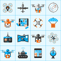Drone Icons Set