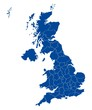 Map of United Kingdom - 81817870