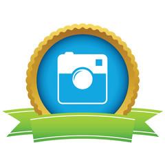 Gold camera logo