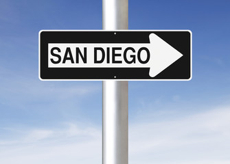 This Way to San Diego