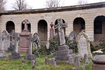 gräber am bogengang brompton cemetery