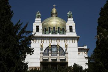 Kirche am Steinhof in Vienna, Austria.