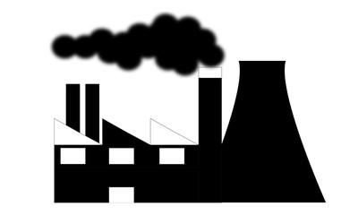 fabbrica che produce fumo