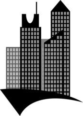 Modern real estate buildings design