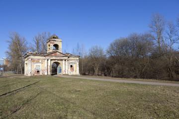 Ворота Охтенского порохового завода. Санкт-Петербург