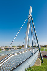 bicycle and pedestrian bridge