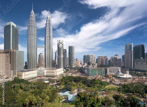 Poster Kuala Lumpur downtown
