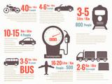 Transportation fuel-infographics - 81821442