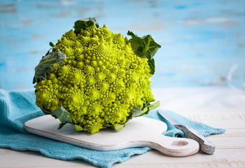 Romanesco broccoli cabbage