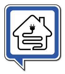 Logo électricité.