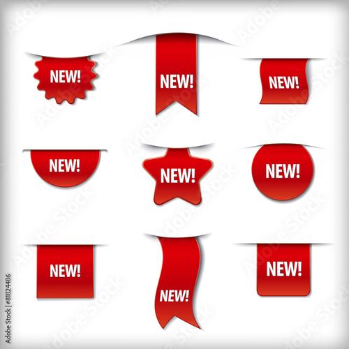Fototapeta new labels