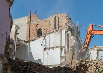 Demolition of building