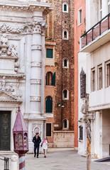 Street in Venice. Italy