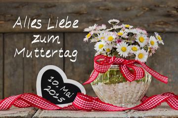 Gänseblümchen, am 10. Mai ist Muttertag